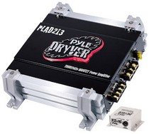 2000-2007 Ford Taurus Pyle 2 Channel 1000 Watt Bridgeable Mosfet Amplifier