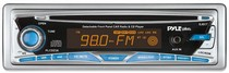 All Jeeps (Universal), All Vehicles (Universal) Pyle AM/FM-MPX Manual Tune Radio CD Player w/ Detachable Face