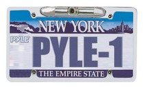 "1962-1962 Dodge Dart Pyle License Plate Rear View Backup CCD Color Camera ""Zinc Metal Chrome"""
