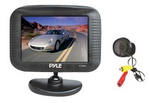 "1991-1996 Saturn Sc Pyle 3.5"" TFT LCD Monitor/Night Vision Rear View and Backup Camera"