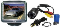 "2006-9999 Mazda Miata Pyle 3.5"" TFT LCD Monitor/Night Vision Rear-View Camera"