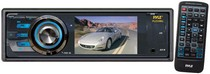 "2008-9999 Smart Fortwo Pyle 3"" TFT/LCD Monitor DVD/VCD/MP3/MP4/CDR/SD/USB Player & AM/FM Receiver"