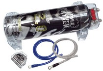 1980-1987 Audi 4000 Pyle 2.0 Farad Digital Power Capacitor Kit