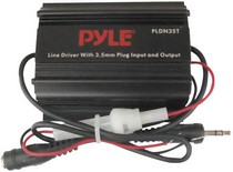 "1968-1974 Chevrolet Nova Pyle 3.5mm / 1/8"" To 3.5mm / 1/8"" Stereo Audio Ground Loop Isolator/ Audio Line Driver"