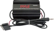 "1968-1974 Chevrolet Nova Pyle Ipod Direct To 3.5mm / 1/8"" Stereo Audio Ground Loop Isolator/ Audio Line Driver"
