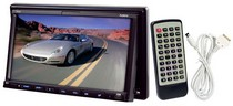 "1995-1998 Mazda Protege Pyle 7"" Double DIN TFT Touch Screen DVD/VCD/CD/MP3/MP4/CD-R/USB/SD-MMC Card Slot/AM/FM/iPod Connector"