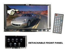 "1989-1992 Ford Probe Pyle 7"" Double Din Detachable TFT Touch Screen DVD/MPEG4/MP3/DIVX/CD-R/USB/SD/AM/FM/RDS"