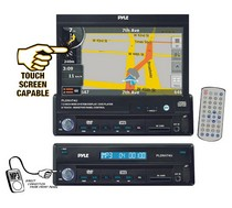 "1991-1994 Nissan Pulsar Pyle 7"" Motorized TFT Touch Screen DVD/CD/MP3 Player/AM/FM/SD USB/Built-In GPS/TTS w USA/Canada & Mexico Maps"
