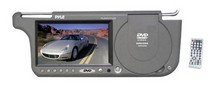 "1968-1969 Ford Torino Pyle 7"" TFT Right Sun visor w/build-in DVD/USB-SD Card Slot (Grey)"