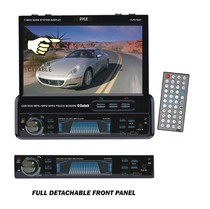 "1998-2005 Mercedes M-class Pyle 7"" Single DIN In-Dash Motorized Touch Screen TFT/LCD Monitor w/ DVD/CD/MP3/MP4/USB/SD/AM-FM/RDS/Bluetooth & Screen Dial Pad"