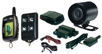 1997-2002 Mitsubishi Mirage Pyle LCD 2-way Remote Start/Security System
