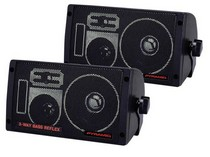 1971-1976 Chevrolet Caprice Pyramid 300 Watts 3-Way Mini Box Speaker System