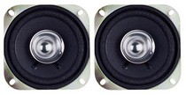 "1971-1976 Chevrolet Caprice Pyramid 4"" 100 Watts Two-Way Dual Cone Speakers"