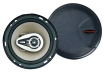 "1971-1976 Chevrolet Caprice Pyramid 6.5"" Three-Way 500 Watts P.P. Cone Speakers"