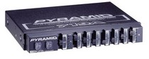 1977-1979 Chevrolet Caprice Pyramid 7 Band Graphic Equalizer w/12dB Boost