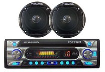 All Jeeps (Universal), All Vehicles (Universal) Pyramid AM/FM Receiver CD Player w/Full Detachable Face w/ 4