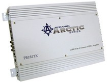 1962-1962 Dodge Dart Pyramid 2000 Watt 4 Channel Bridgeable MOSFET Amplifier