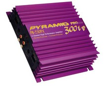 1989-1992 Ford Probe Pyramid 300 Watt 2 Channel Amplifier