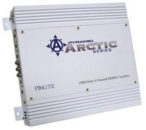 1980-1987 Audi 4000 Pyramid 1000 Watt 4 Channel Bridgeable MOSFET Amplifier