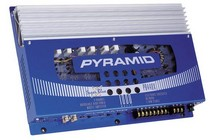 1966-1971 Jeep Jeepster_Commando Pyramid 1000 Watt 4 Channel MOSFET Amplifier w/Sub Crossover