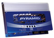 1980-1987 Audi 4000 Pyramid 1000 Watt 2 Channel MOSFET Amplifier