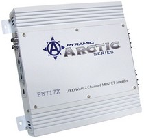 1962-1962 Dodge Dart Pyramid 1000 Watt 2 Channel Bridgeable MOSFET Amplifier