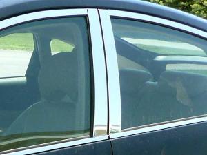 Black Pillar Posts for Toyota Prius 10-15 8pc Set Door Trim Piano Cover Kit