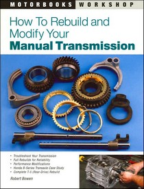 1978-1990 Plymouth Horizon Quayside Publishing Book How to Rebuild and Modify Your Manual Transmission