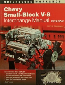 1967-1969 Chevrolet Camaro Quayside Publishing Book Chevy Small-Block V-8 Interchange Manual