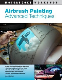 1978-1990 Plymouth Horizon Quayside Publishing Book Airbrush Painting: Advanced Techniques