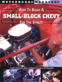 1967-1969 Chevrolet Camaro Quayside Publishing Book How to Build a Small Block Chevy for the Street