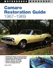 1967-1969 Chevrolet Camaro Quayside Publishing Book Camaro Restoration Guide, 1967-1969