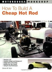 1967-1969 Chevrolet Camaro Quayside Publishing Book How To Build a Cheap Hot Rod