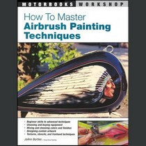 1978-1990 Plymouth Horizon Quayside Publishing Book How to Master Airbrush Painting Techniques