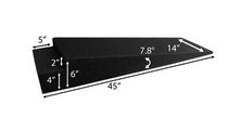 "1953-1957 Chevrolet Two-Ten Race Ramps 6"" Trailer Ramps"