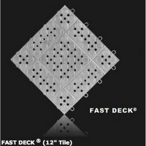 1962-1962 Dodge Dart RaceDeck Fast Deck Tile - Alloy