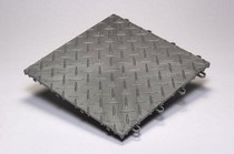 1987-1990 Honda_Powersports CBR_600_F RaceDeck Diamond Tile - Alloy