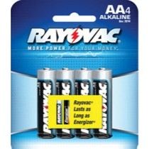 2000-9999 Ford Excursion Rayovac Alkaline AA Batteries 4-Pack