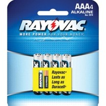 1997-2004 Chevrolet Corvette Rayovac Alkaline AAA Batteries 4-Pack
