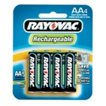 1997-2004 Chevrolet Corvette Rayovac NiMH Rechargeable AA Batteries