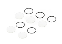 1966-1976 Jensen Interceptor Replay XD1080 Clear Lens Cover - 5 Pack