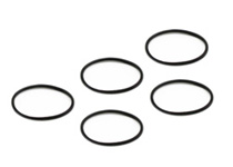 1980-1987 Audi 4000 Replay XD1080 Lens Bezel & Rear Cap O-Ring - 5 Pack