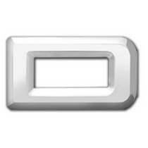 2001-2003 Mazda Protege Restyling Ideas Chrome Plated 3D Letter Letter D