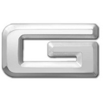 2001-2003 Mazda Protege Restyling Ideas Chrome Plated 3D Letter Letter G