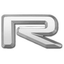 2001-2003 Mazda Protege Restyling Ideas Chrome Plated 3D Letter Letter R
