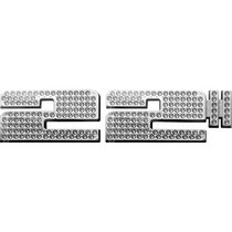 2001-2003 Mazda Protege Restyling Ideas Size Emblem - Chromed Abs Bling - Set Of 2 Letter - 22""