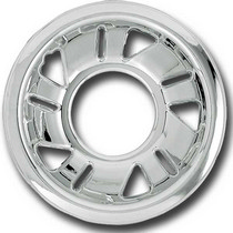 98-01 Ford Explorer, 98-01 Ford Ranger, 98-01 Mercury Mountaineer, 98-03 Mazda B-Series Restyling Ideas Chrome Wheel Shell - 15