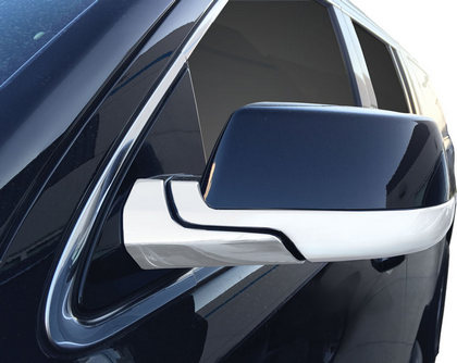 For CHEVROLET Tahoe 1995 1996 1997 1998 1999 Chrome 2 Top Half Mirror Covers USA