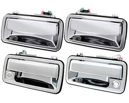 fits Chevrolet Chevy Saturn Outside Outer Exterior Door Handle Front Chrome