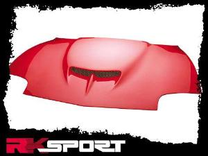 95 02 Pontiac Sunfire Rk Sport Fibergl Hoods Ram Air Hood W Carbon